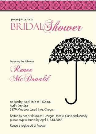 bridesmaids theme bridal shower