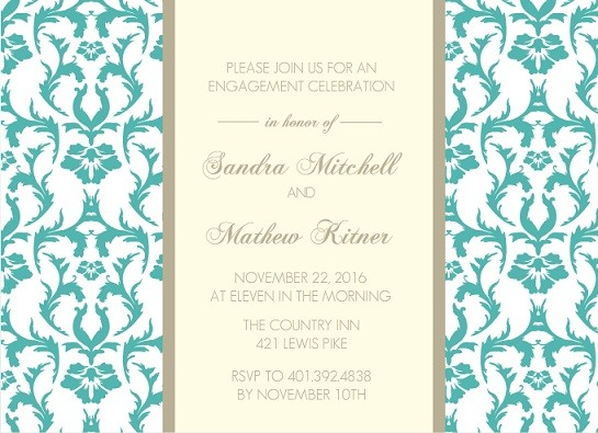 Engagement Party Ideas Wedding Ideas Tips Wordings – Engagement Party Invitation Etiquette