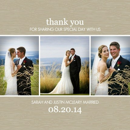 Wedding Thank You Cards- Wedding Ideas, Tips & Wordings