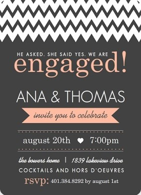 engagement party ideas wedding ideas, tips  wordings, Party invitations