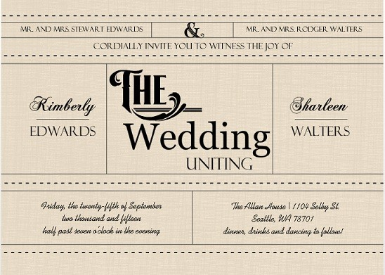 Fun wedding invitation wording gangcraft unique wedding invitation wording ideas wedding ideas tips wedding invitations stopboris Gallery