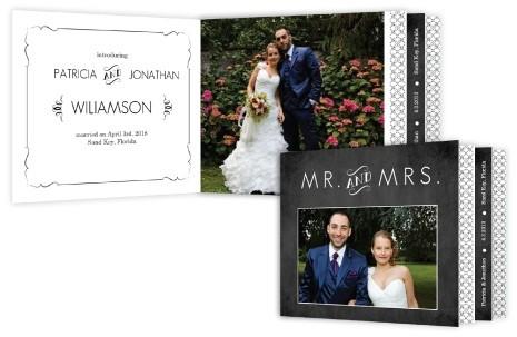 Wedding Booklets Unique Wedding Stationary – Unique Wedding Thank You Card Ideas